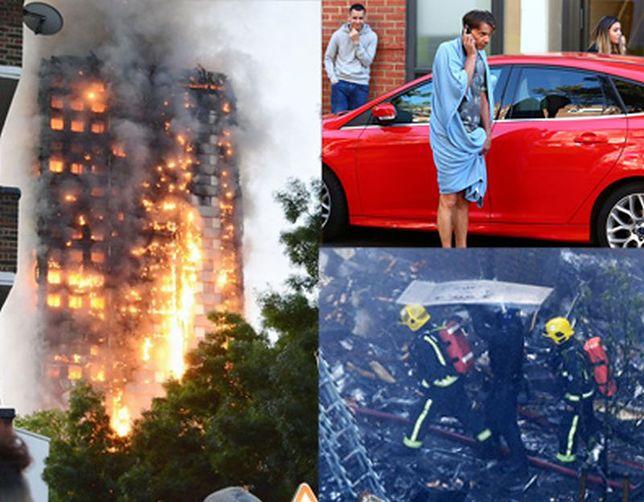 Tak wyglądała katastrofa wieżowca w Londynie minuta po minucie