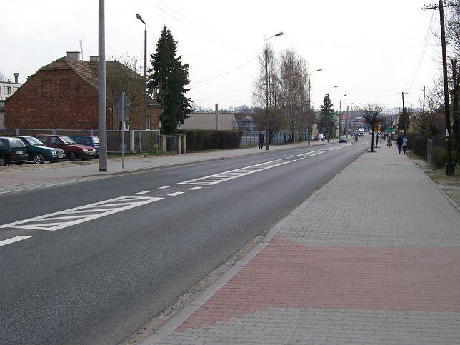 DK45 przebiega m.in. przez Wieluń