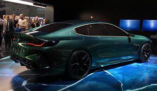 BMW Concept M8 Gran Coupé debiutuje w Genewie. Sportowa limuzyna ma imponować osiągami