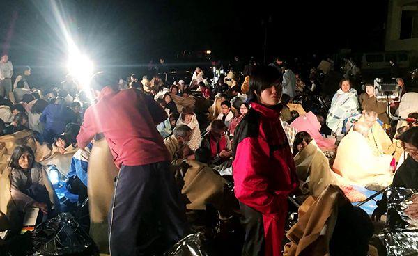 Silne trzęsienie ziemi na japońskiej wyspie Kiusiu
