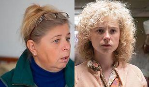Ludmiła Ignatienko - prawdziwa po lewej, po prawej ta z serialu