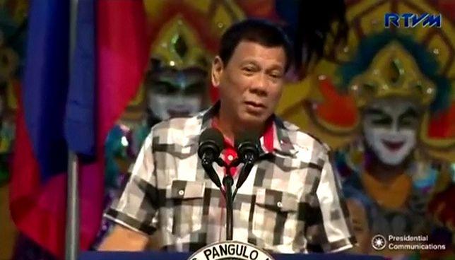 Rodrigo Duterte rządzi Filipinami od czerwca 2016 roku