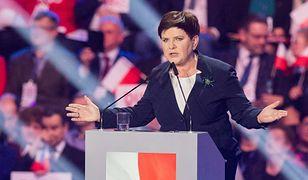Beata Szydło na wiecu wyborczym prezydenta Andrzeja Dudy