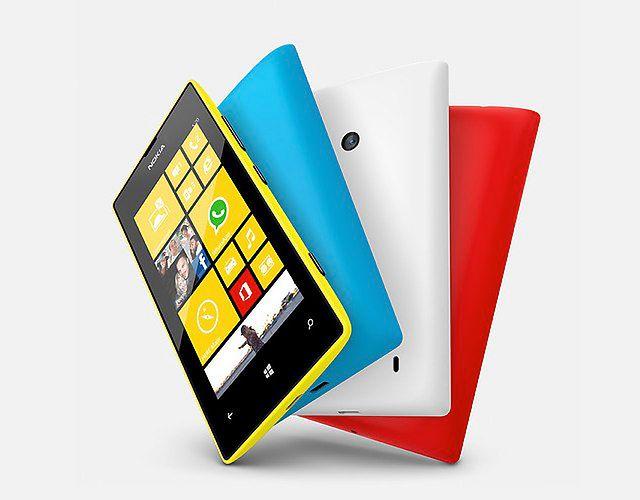 Słoneczna Lumia 520 na tle ... yyy flagi Francji ? ;)