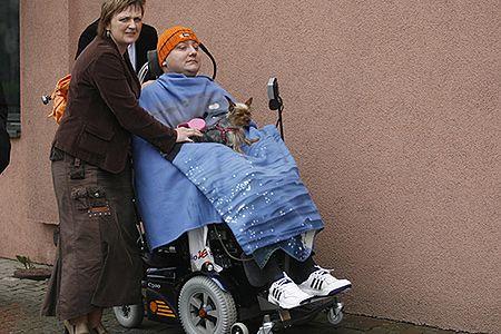 Janusz Świtaj otrzymał wózek sterowany oddechem