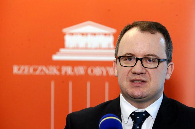Adam Bodnar zwrócił się także o podanie podstawy prawnej ws. Ludmiły Kozłowskiej