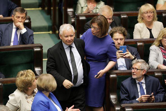 Kaczyński obraził wszystkich, oskarżył o zabójstwo brata. Tak powitali go posłowie