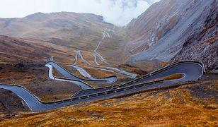 Przełęcz Stelvio - najbardziej kręta droga Europy
