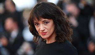 Asia Argento - aktorka oskarżona o molestowanie seksualne nieletniego Jimmy'ego Bennetta.