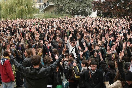 Nawet licealiści strajkują przeciw reformie emerytur