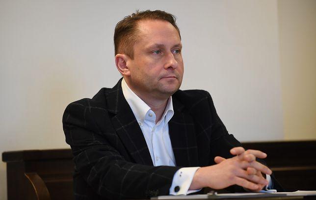 Kamil Durczok składał we wtorek wyjaśnienia