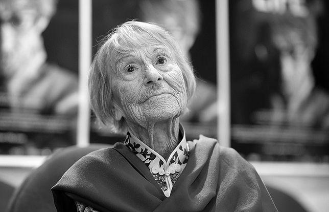 """Brunhilde Pomsel podczas premiery filmu dokumentalnego """"Niemieckie życie"""" w czerwcu 2016 r. w Monachium."""