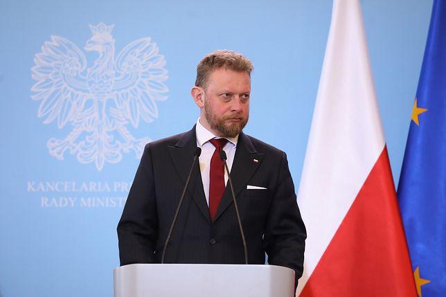 Minister zdrowia Łukasz Szumowski wypowiedział się na temat koronawirusa