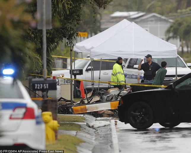 Hawaje - wypadek śmigłowca na wyspie Oahu.