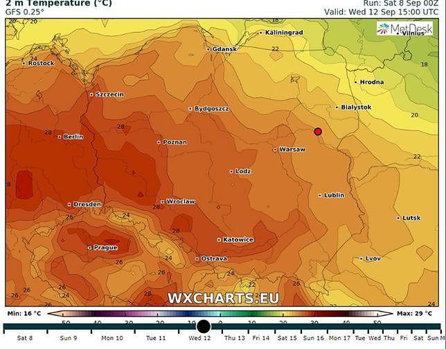 Pogoda na dziś (poniedziałek 3 czerwca). Lato w Warszawie i Wrocławiu. Ciepło również w Krakowie i Gdańsku