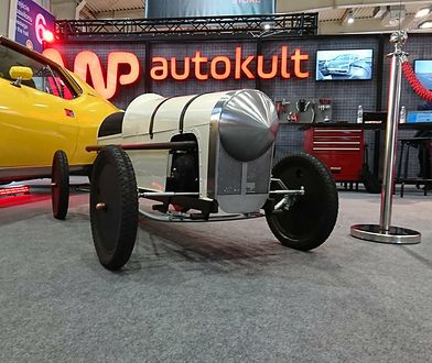 Dry Lake Roadster miał swoją premierę na stoisku WP Autokult w czasie Poznań Motor Show 2018