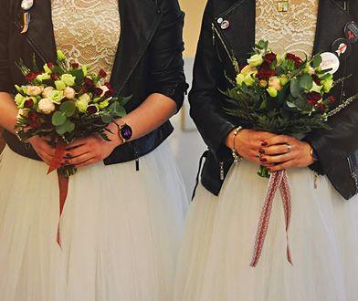 Ślub dwóch kobiet w Łodzi
