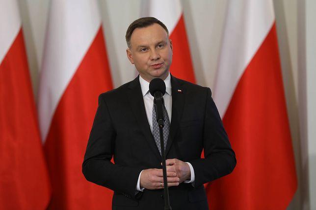 Prezydent Andrzej Duda powołał 10 sędziów Izby Dyscyplinarnej Sądu Najwyższego