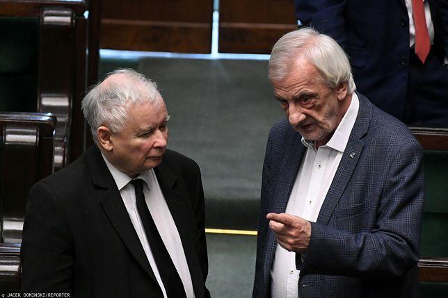 Jarosław Kaczyński oraz Ryszard Terlecki (zdj. arch.)