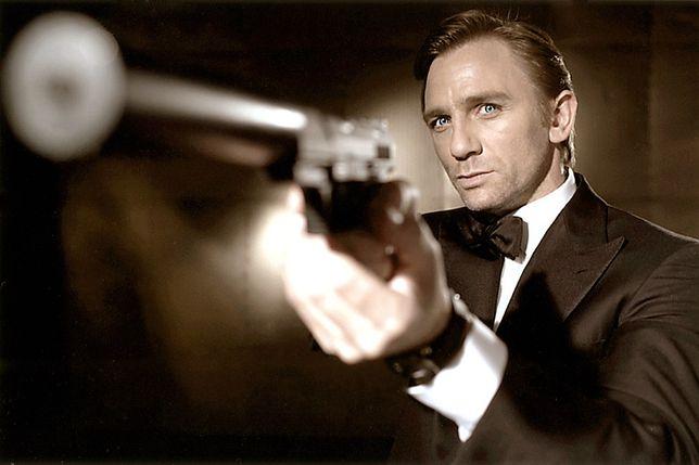 Daniel Craig jako agent 007