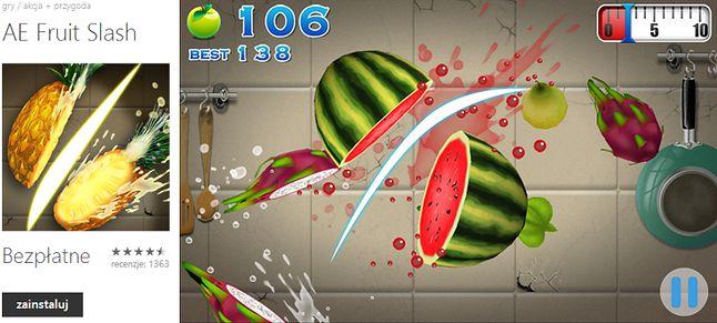 AE Fruit Slash - rewelacyjny, darmowy zamiennik Fruit Ninja
