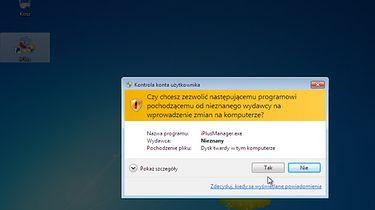 UAC w Windows 7 - dodajemy wyjątki