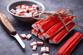 Surimi - skład paluszków surimi, przepisy, kalorie i wartości odżywcze
