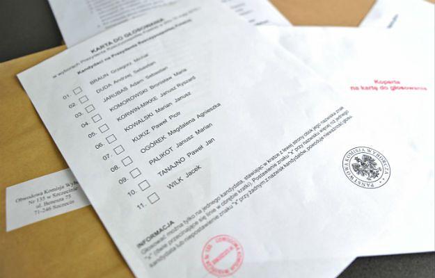 Niektórzy Polacy dostali już karty do głosowania