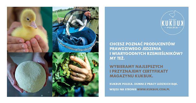 "Magazyn kulturalno-kulinarny KUKBUK wprowadza swój certyfikat jakości - ""KUKBUK poleca""!"