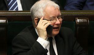 Prezes PiS, Jarosław Kaczyński.