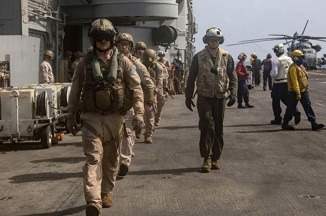 USA. 16 marines jest podejrzanych o przemyt imigrantów