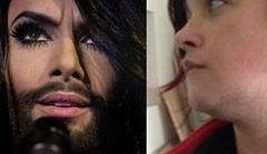 Kobieta z brodą atakowana po wygranej Conchity Wurst