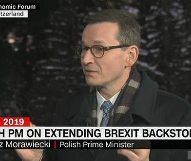 Premier Mateusz Morawiecki został przepytany na Światowym Forum Ekonomicznym w Davos