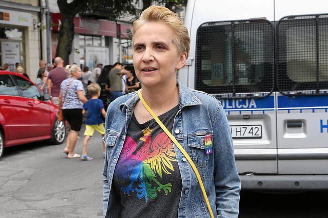 Joanna Scheuring-Wielgus w Płocku