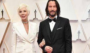 Keanu Reeves z mamą