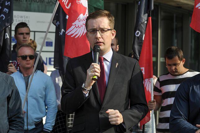 Robert Winnicki potępił działania neonazistów