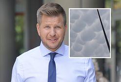 Filip Chajzer uchwycił rzadkie zjawisko pogodowe. Zdjęcie robi wrażenie
