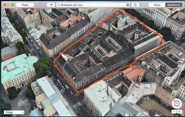 W miejscu zaznaczonych kamienic podobno znajdował się plac Chłopców z Placu Broni.