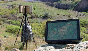 Przenośny radar w plecaku