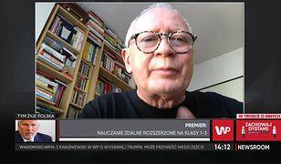 Strajk Kobiet. Michał Boni: Mateusz Morawiecki stosuje szantaż na protestujących