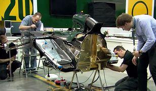 Budowa bolidu Formuły 1