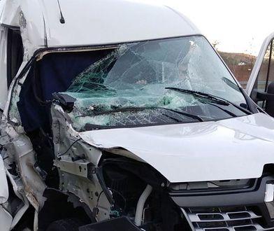 Rozbitym autem kierowca wracał do Polski. Hiszpanie przecierali oczy