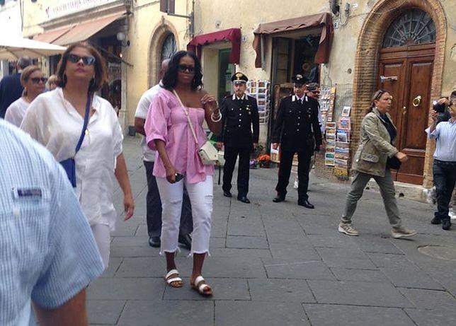 Barack i Michelle Obama na urlopie w Toskanii