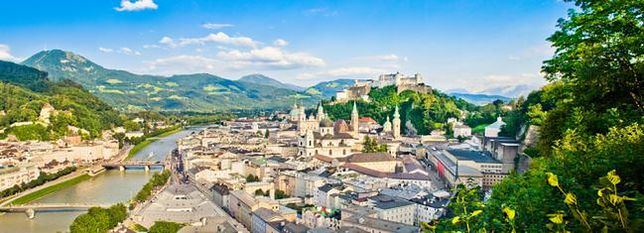 Jedno z najpiękniejszych miast Europy - Salzburg, Austria