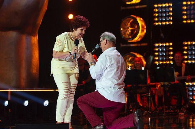 """Pan Jan oświadczył się ukochanej na scenie """"The Voice Senior"""""""