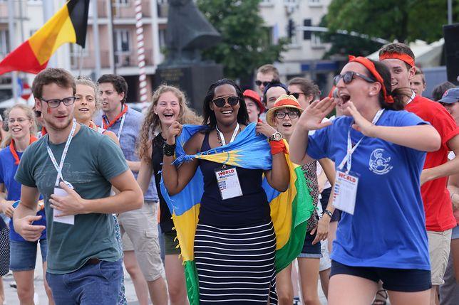 Uczestnicy Światowych Dni Młodzieży