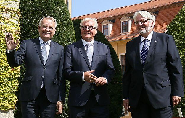 Szefowie MSZ państw Trójkąta Weimarskiego: chcemy wzmocnić UE