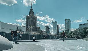 Warszawa zyskała nowe miejsce do rekreacji. (fot. Zieleń Warszawska - Facebook)