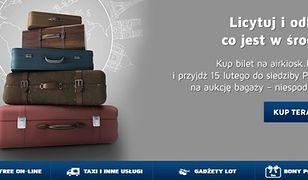 LOT wystawia na licytację bagaże pasażerów