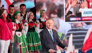 Wybory 2020. TVP i Polsat najwięcej czasu poświęciły przemowie Andrzeja Dudy